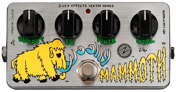 ZVEX Vexter Woolly Mammoth Heavy Silicon Fuzz Pedal
