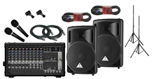 AMS Road Two Portable PA System Package