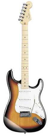 Fender American Stratocaster Electric Guitar with Case