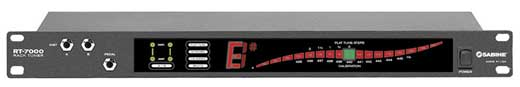 Sabine RT7000 Chromatic Rackmount Tuner