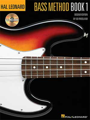Hal Leonard Book and CD Bass Method 1