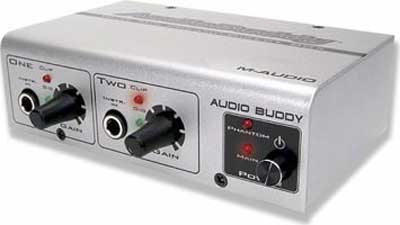 M Audio Audio Buddy Microphone Preamp