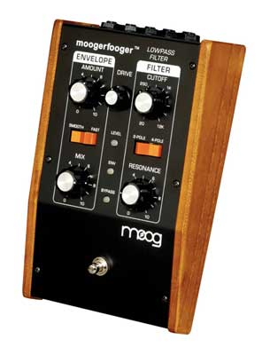 Moog Music MF101 Moogerfooger Low Pass Envelope Filter Pedal