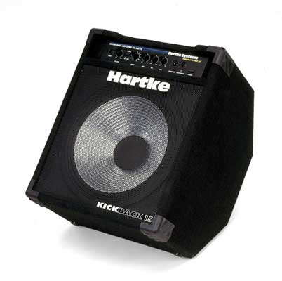 Hartke Kickback 15 Bass Guitar Combo Amplifier