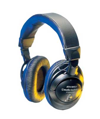 Audio-Technica ATHM40FS Precision Headphones