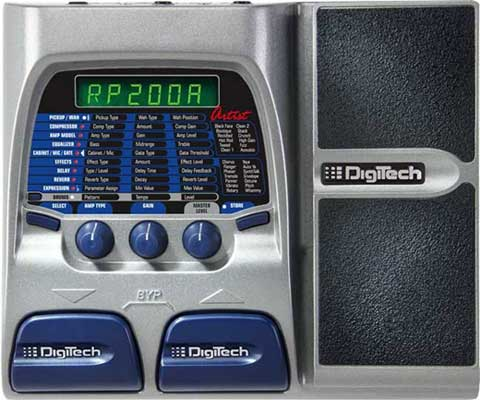 DigiTech RP200A Guitar Effects Processor