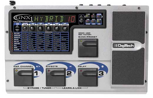 DigiTech GNX1 Guitar Effects Processor