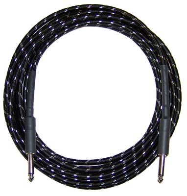 CBI BR15 Braided Guitar Instrument Cable