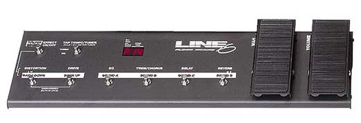 Line 6 Floor Board Foot Controller