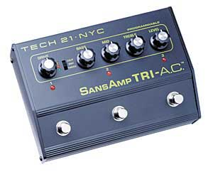 Tech 21 SansAmp Tri AC Programmable Overdrive Pedal