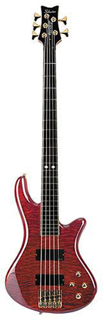 Schecter Stiletto Elite 5 String Electric Bass Guitar