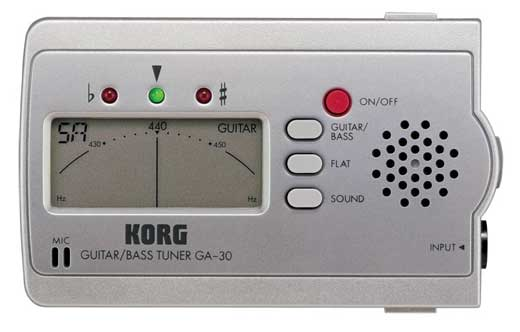 Korg GA30 Guitar and Bass Tuner