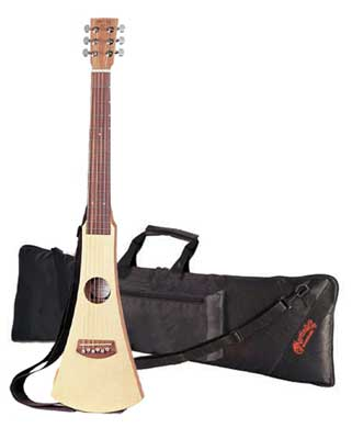 Martin BackPacker Steel String Acoustic Guitar Natural with Gig Bag