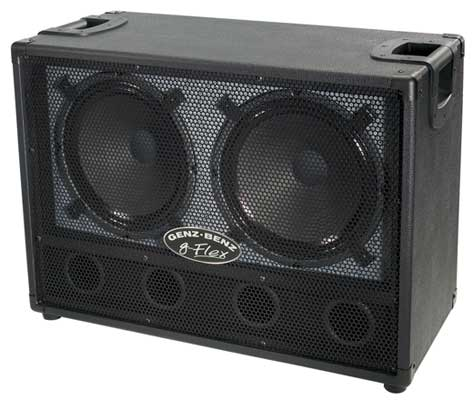 Genz Benz GB212GFLEX 2x12 Ported Guitar Cabinet