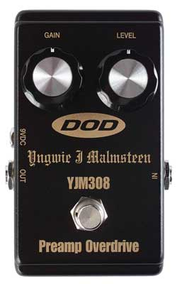DOD YJM308 Yngwie Malmsteen Overdrive Pedal