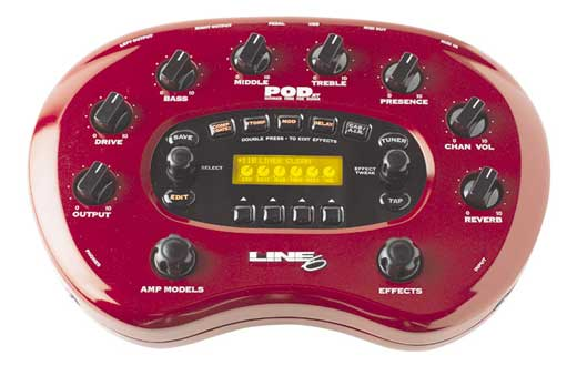 Line 6 POD XT Modeling Guitar Effects Processor