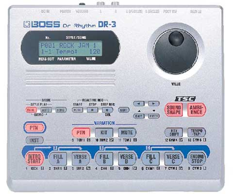 Boss DR 3 Dr. Rhythm Drum Machine