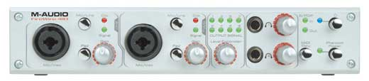 M Audio 410 FireWire Audio Interface