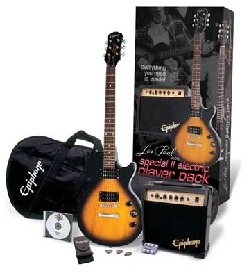 Epiphone Les Paul Special II Players Electric Guitar Package