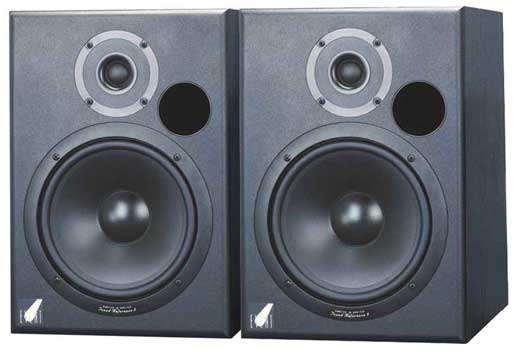 Event TR8XL Tuned Reference Biamped Powered Studio Monitors