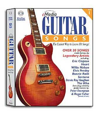 eMedia Guitar Songs Instructional Software