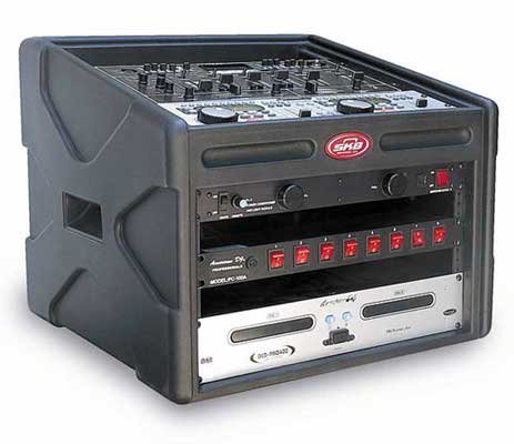 SKB DJ Station Rack Case