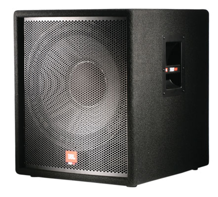 JBL JRX118SP Powered PA Subwoofer