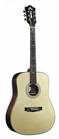 Guild GAD 50 Dreadnought Acoustic Guitar with Case