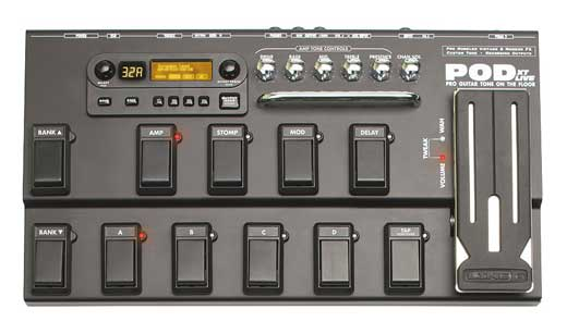 Line 6 POD XT Live Guitar Effects Processor