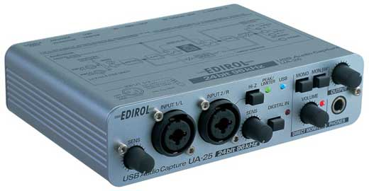 Edirol UA25 USB Audio Interface