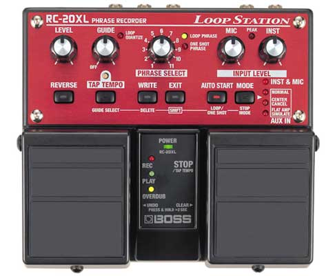 Boss RC20XL Loop Station Pedal