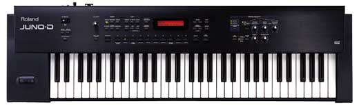 Roland Juno D 61 Key Synthesizer Keyboard