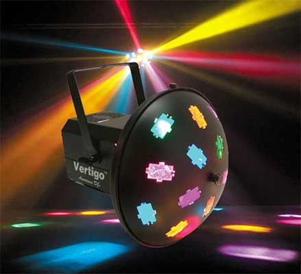 American DJ Vertigo 30 Beam Sound Activated Light