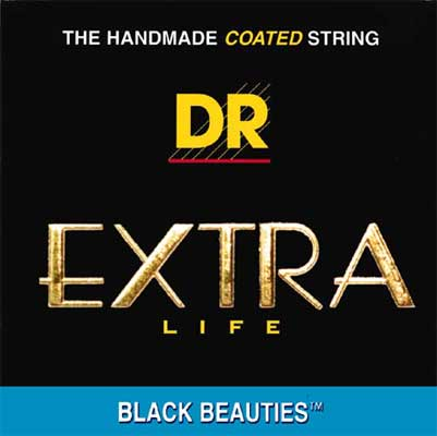 DR Strings BKB545 Black Beauties 5 String Bass Strings