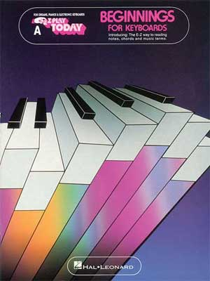 Hal Leonard EZ Play Today Keyboard Beginnings Book A