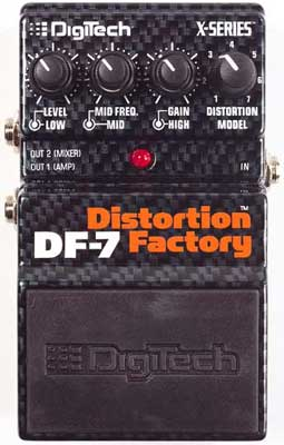 DigiTech DF7 Distortion Factory Multi Distortion Pedal