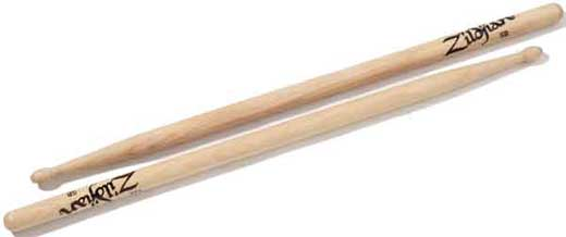 Zildjian 5B Hickory Drum Sticks