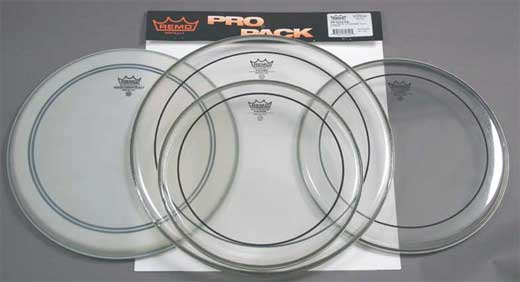 Remo Pinstripe Drum Head ProPack Package
