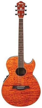 review ibanez aes20e acoustic electric guitar. Black Bedroom Furniture Sets. Home Design Ideas