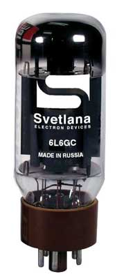 Svetlana 6L6GC Russian Power Amp Vacuum Tube