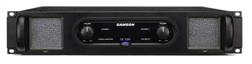 Samson SX1200 SX Series Power Amplifier