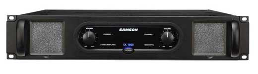 Samson SX1800 SX Series Power Amplifier