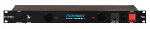 Furman M8L Merit Power Conditioner with Lights
