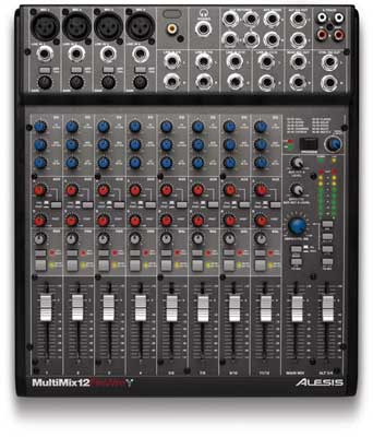 Alesis MultiMix 12 FireWire Audio Mixer