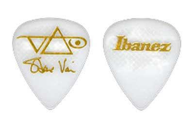 Ibanez Steve Vai Rubber Grip Guitar Picks 6 Pack
