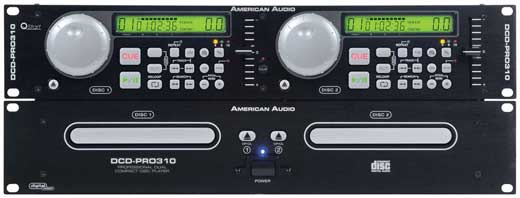 American Audio DCD-PRO310 Professional Dual DJ CD Player