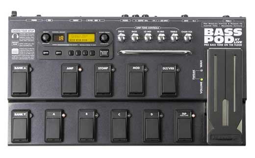 Line 6 Bass POD XT Live Multi Effects Pedal