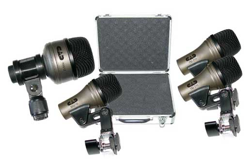 CAD DMTP4 Drum Microphone Touring Package