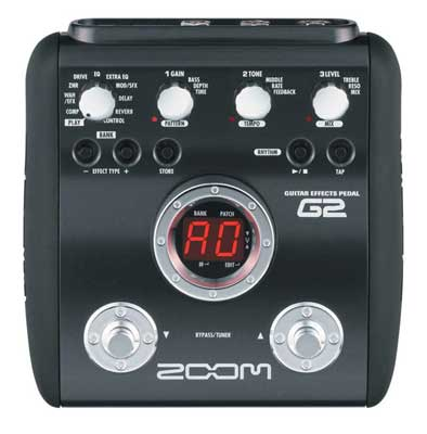 Zoom G2 Guitar Multieffects Pedal
