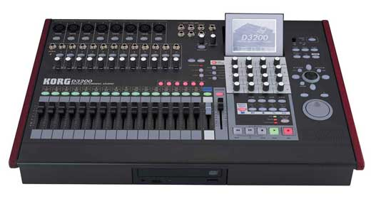 Korg D3200 Digital Multitrack Recorder